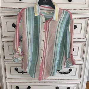 Francesca's button down blouse